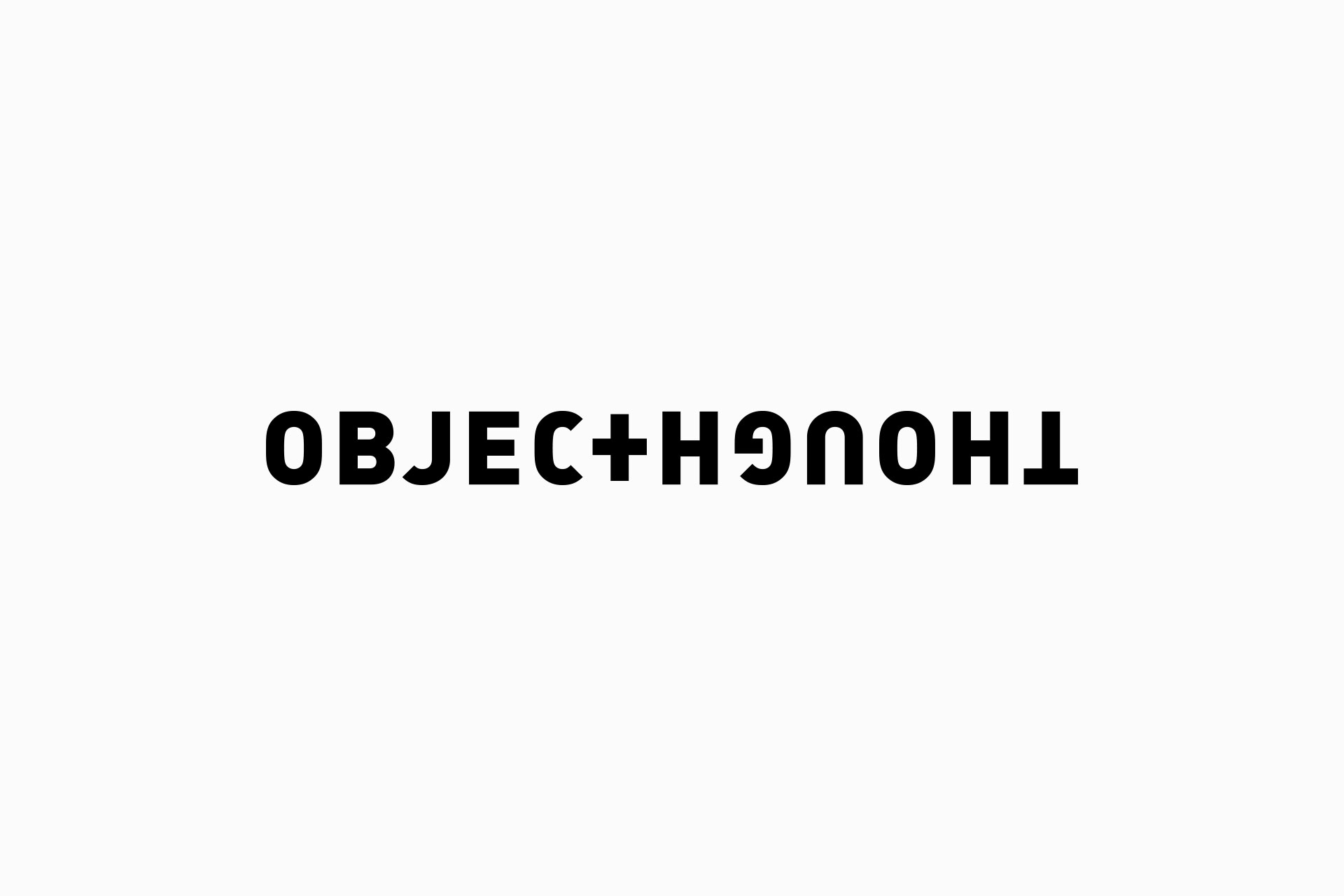 object and thought logo