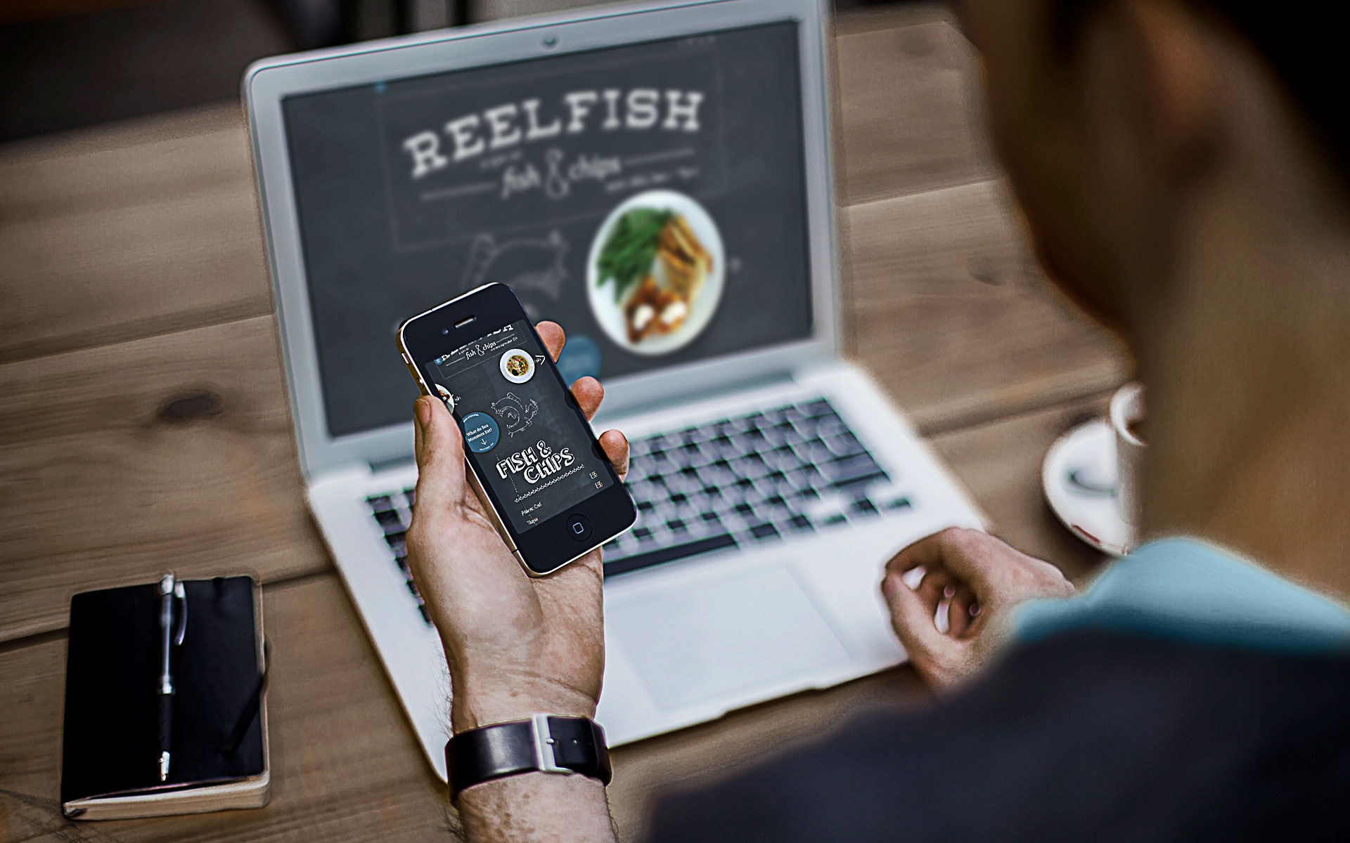 reelfish responsive restaurant menu
