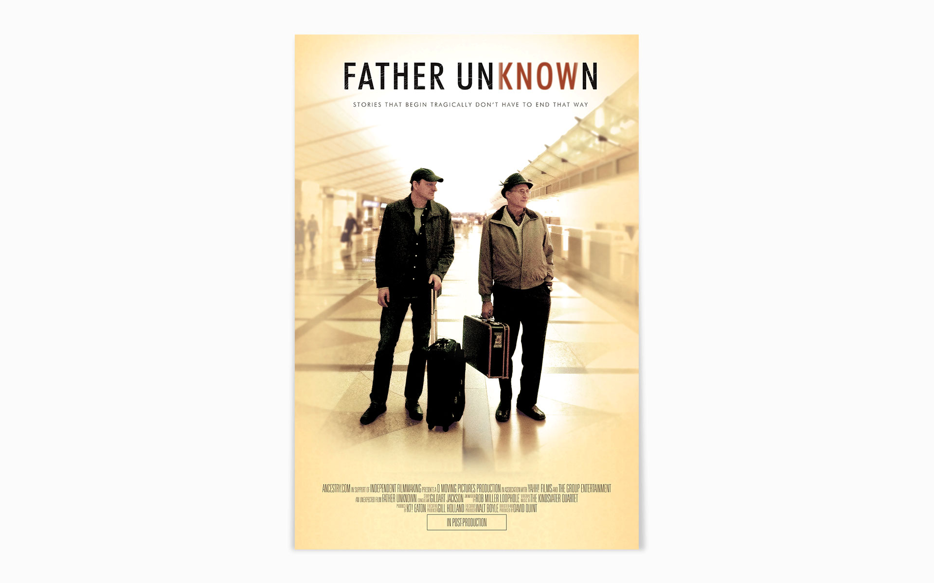 father unknown movie poster
