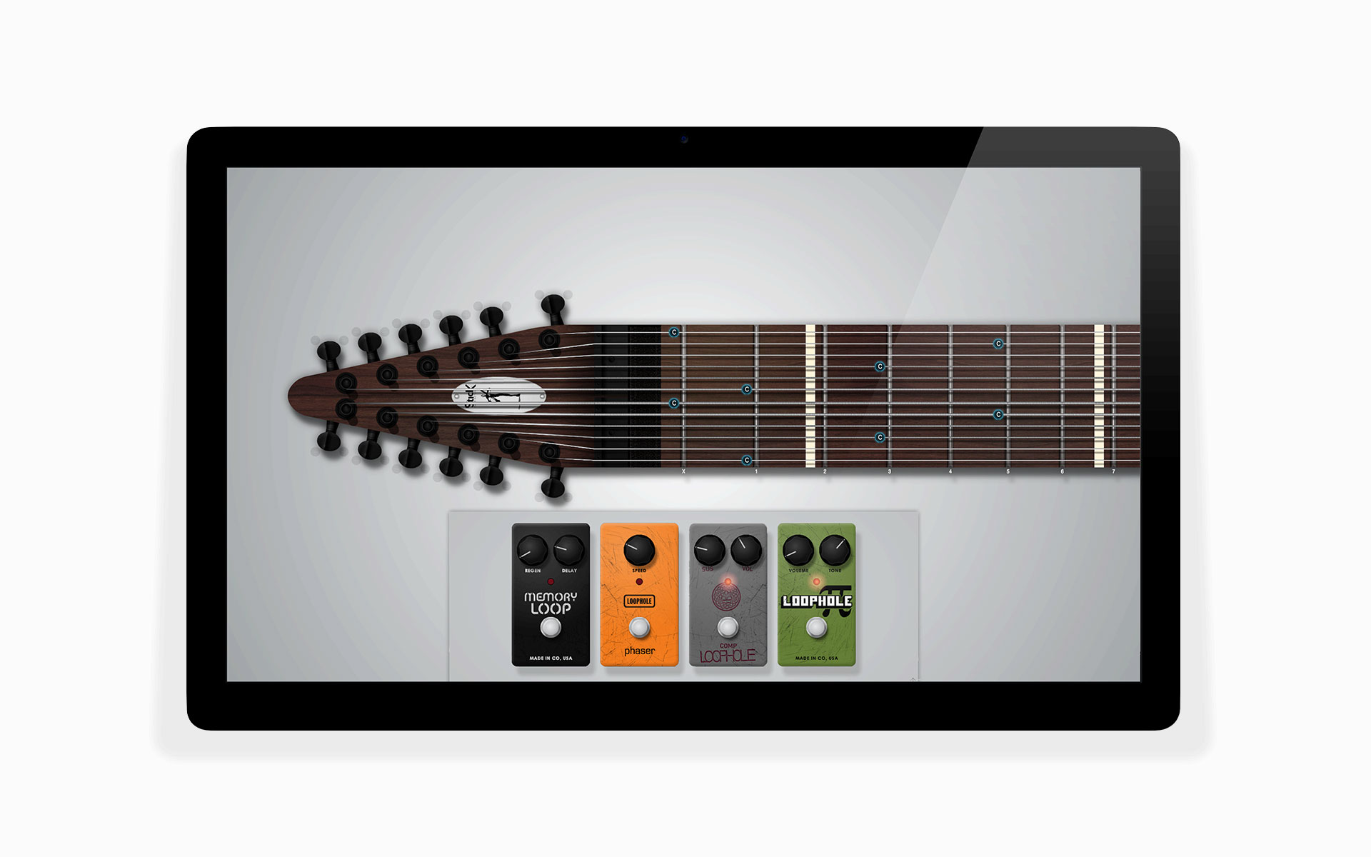 virtual chapman stick effects pedals
