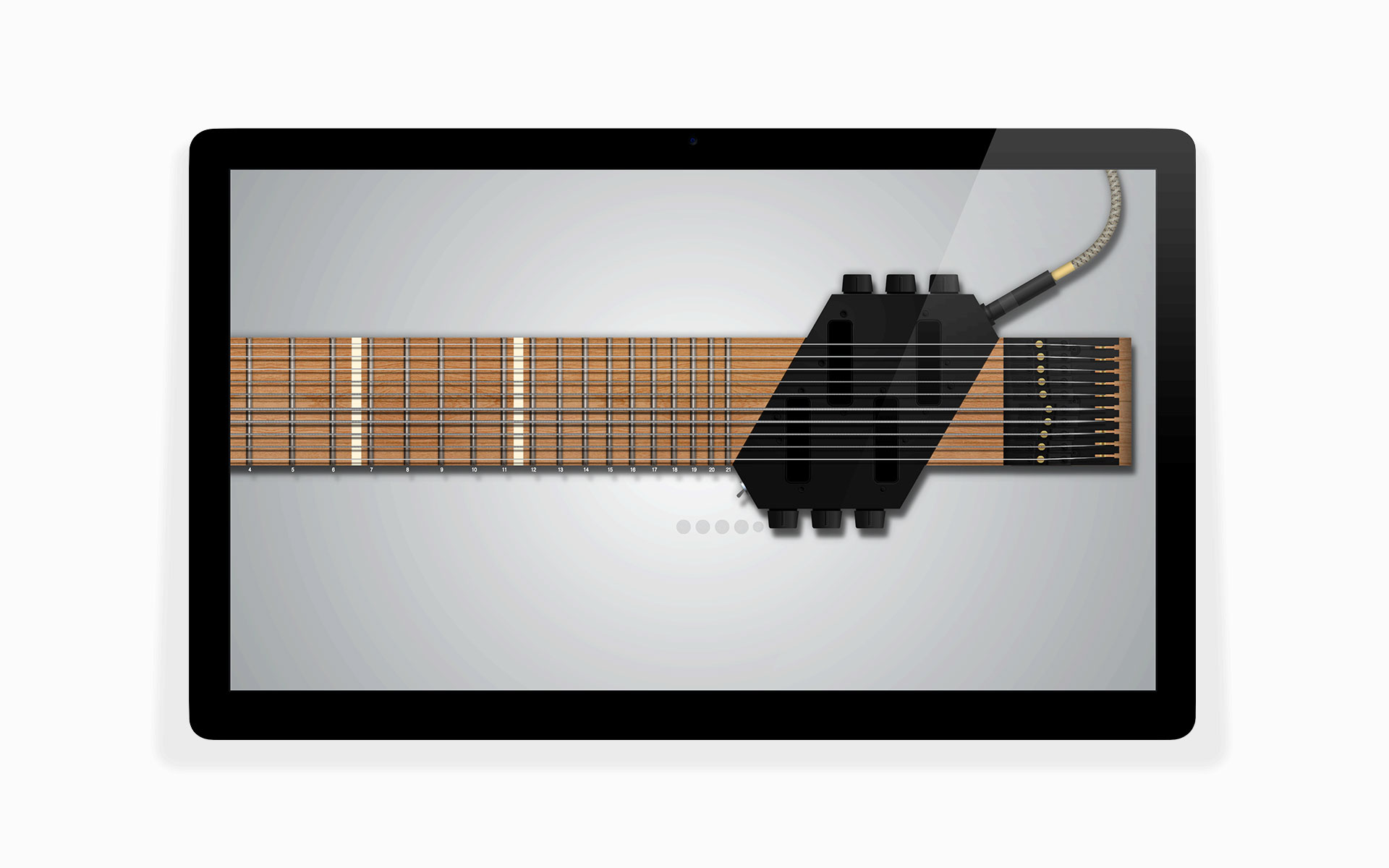 virtual chapman stick illustration