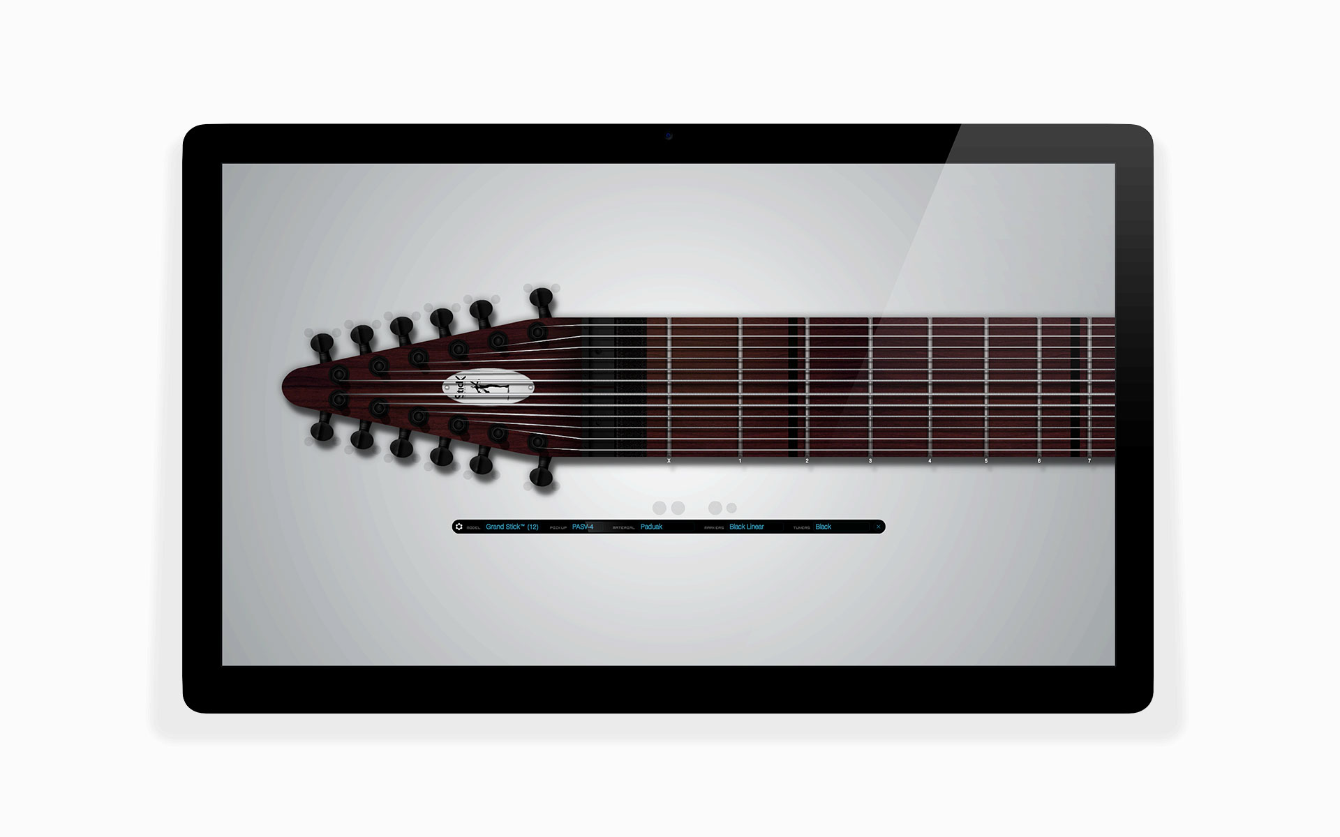 virtual chapman stick instrument app