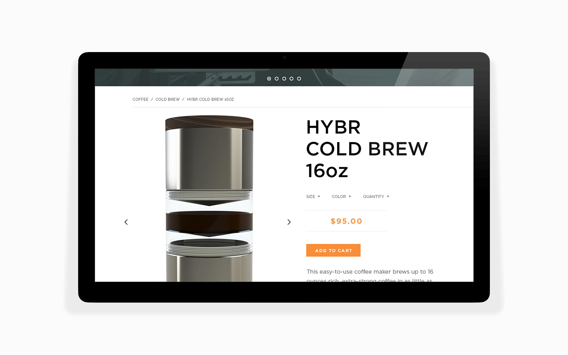 hybr coffee co online store