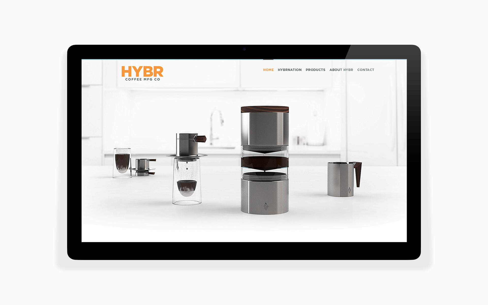 hybr coffee co website