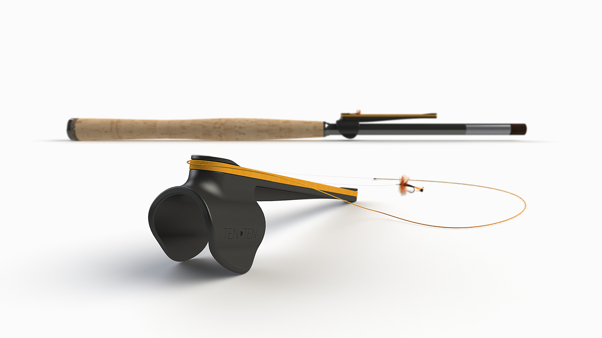 ten ten tenkara spool product design