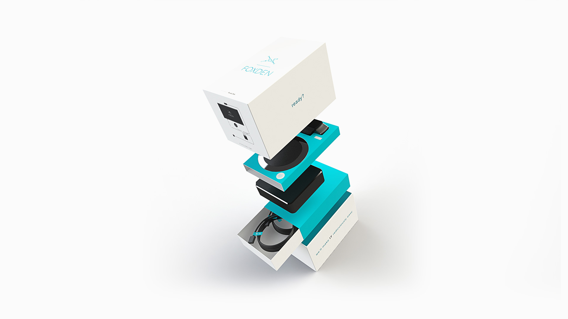 readytalk foxden packaging concept